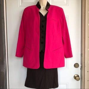 RARE Vintage Christian Dior Pink Blazer & Skirt